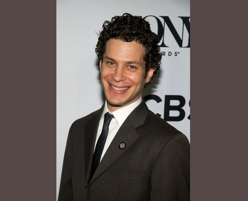 """FILE - In this May 4, 2016 file photo, Thomas Kail attends the 2016 Tony Awards """"Meet the Nominees"""" press junket in New York. Kail is nominated for a Tony Award for his work directing the musical, """"Hamilton."""" The awards will be held on Sunday, June 11. (Photo by Charles Sykes/Invision/AP, File)"""