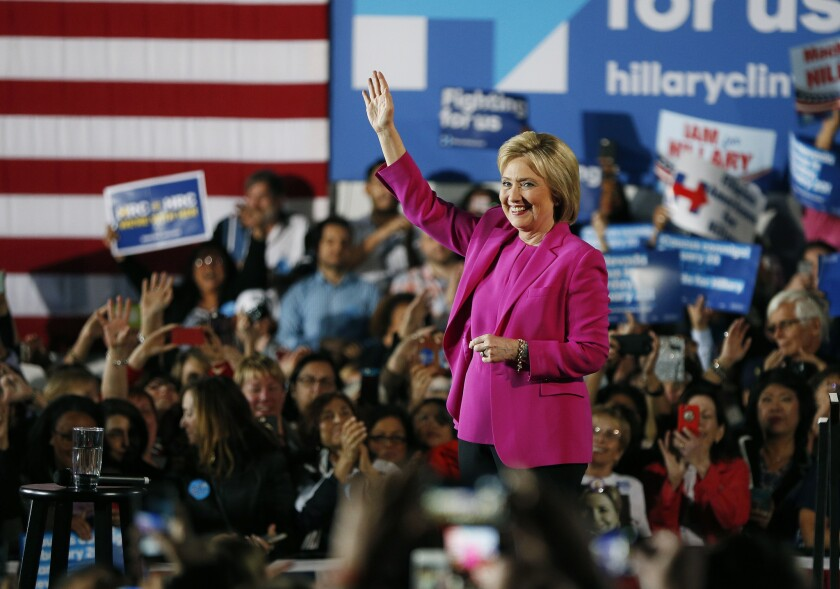Hillary Clinton in Las Vegas
