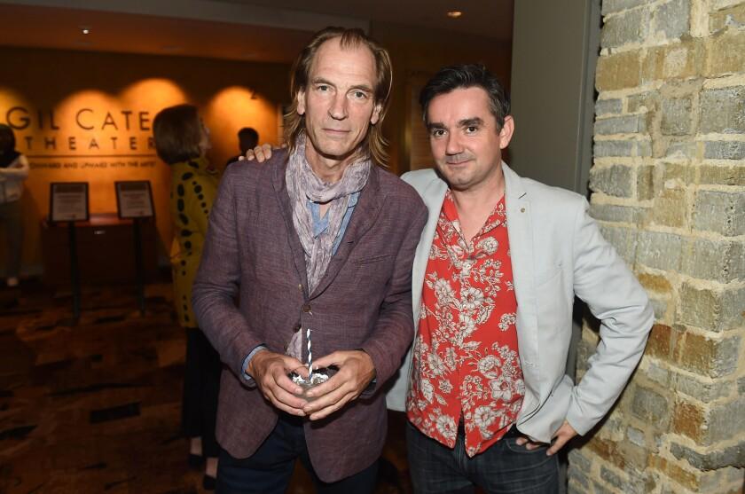 Julian Sands and guest (Photo by Jordan Strauss)