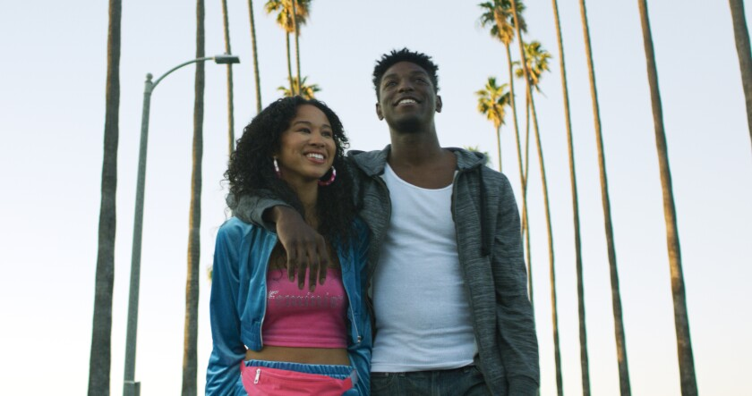 Christina Cooper and Jamal Henderson in 'South Central Love'