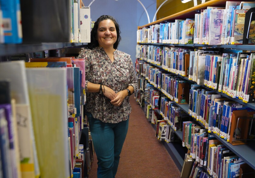 Jackie Macias, a Chula Vista librarian, received a $5K grant to create a program for immigrant communities.