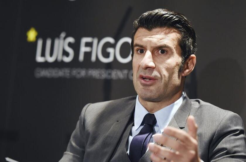 El exfutbolista portugués Luis Figo. EFE/Archivo