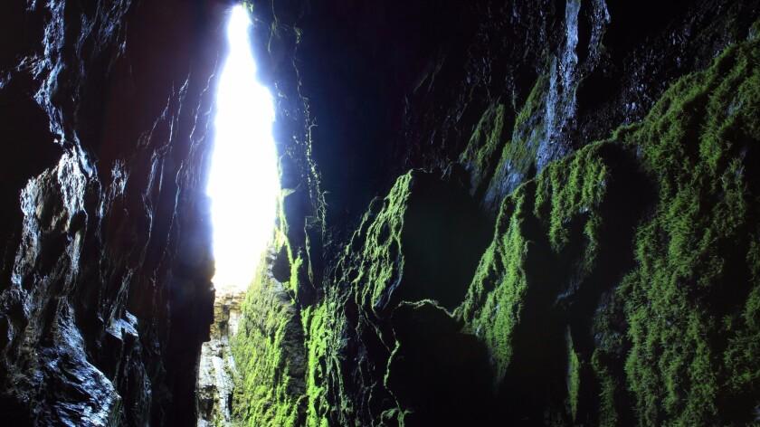 A cave in Hubei Shennongjia.