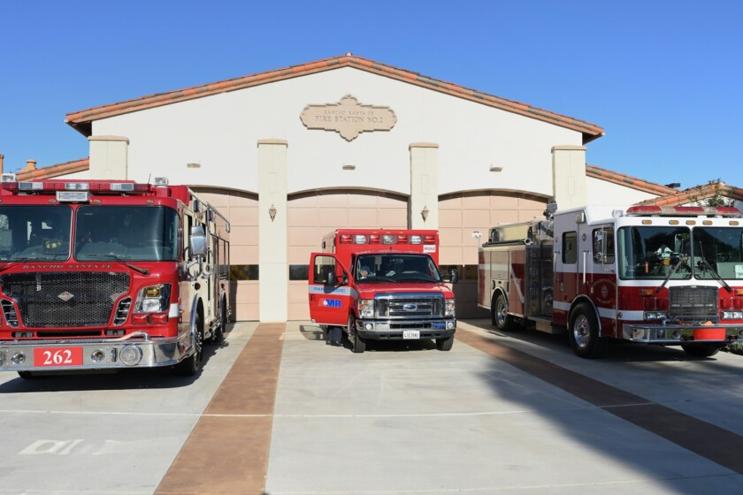 Rancho Santa Fe Fire Station 2, one of the many fire stations with firefighters who work hard to protect local communities.
