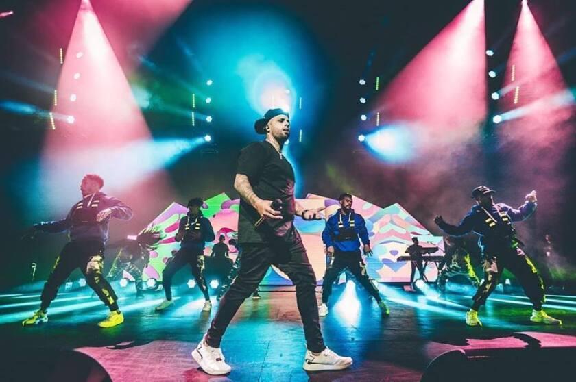 El cantante Nicky Jam estuvo hace poco en Los Ángeles, donde cuenta con muchos seguidores.
