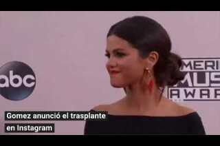 Selena Gomez recibe un trasplante de riñón