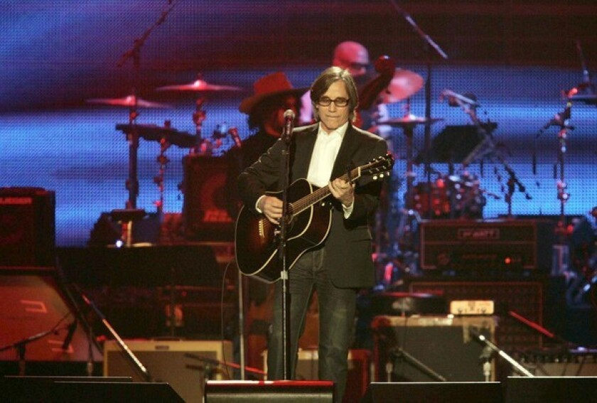 Jackson Browne revealed he tested positive for COVID-19.