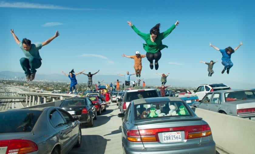 """Our characters dream big, so it was important that the film start with a bang,"" says ""La La Land"" editor Tom Cross."