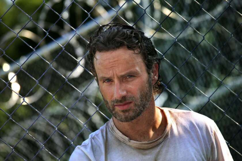 "Andrew Lincoln on ""The Walking Dead"""