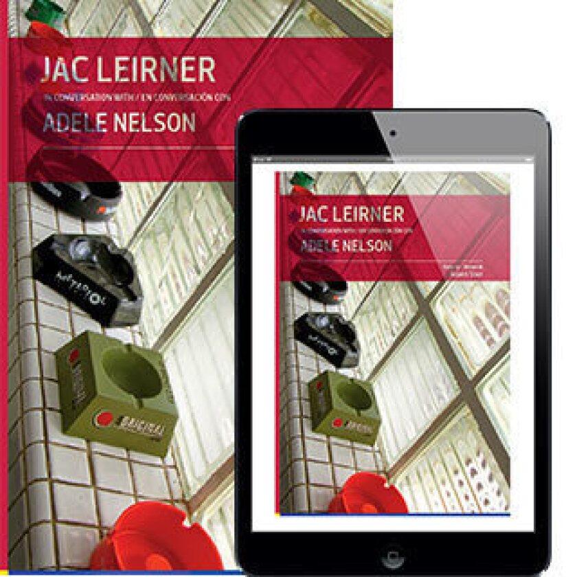 """Jac Leirner en Conversacion"" is one of the new e-books from Fundacion Cisneros/Coleccion Patricia Phelps de Cisneros."