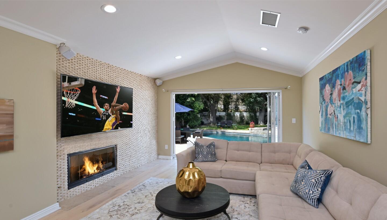 Toni Romano's Studio City home