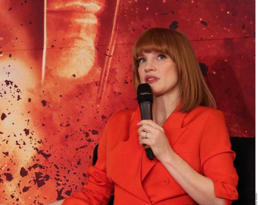 Jessica Chastain protagonizará una serie de HBO.