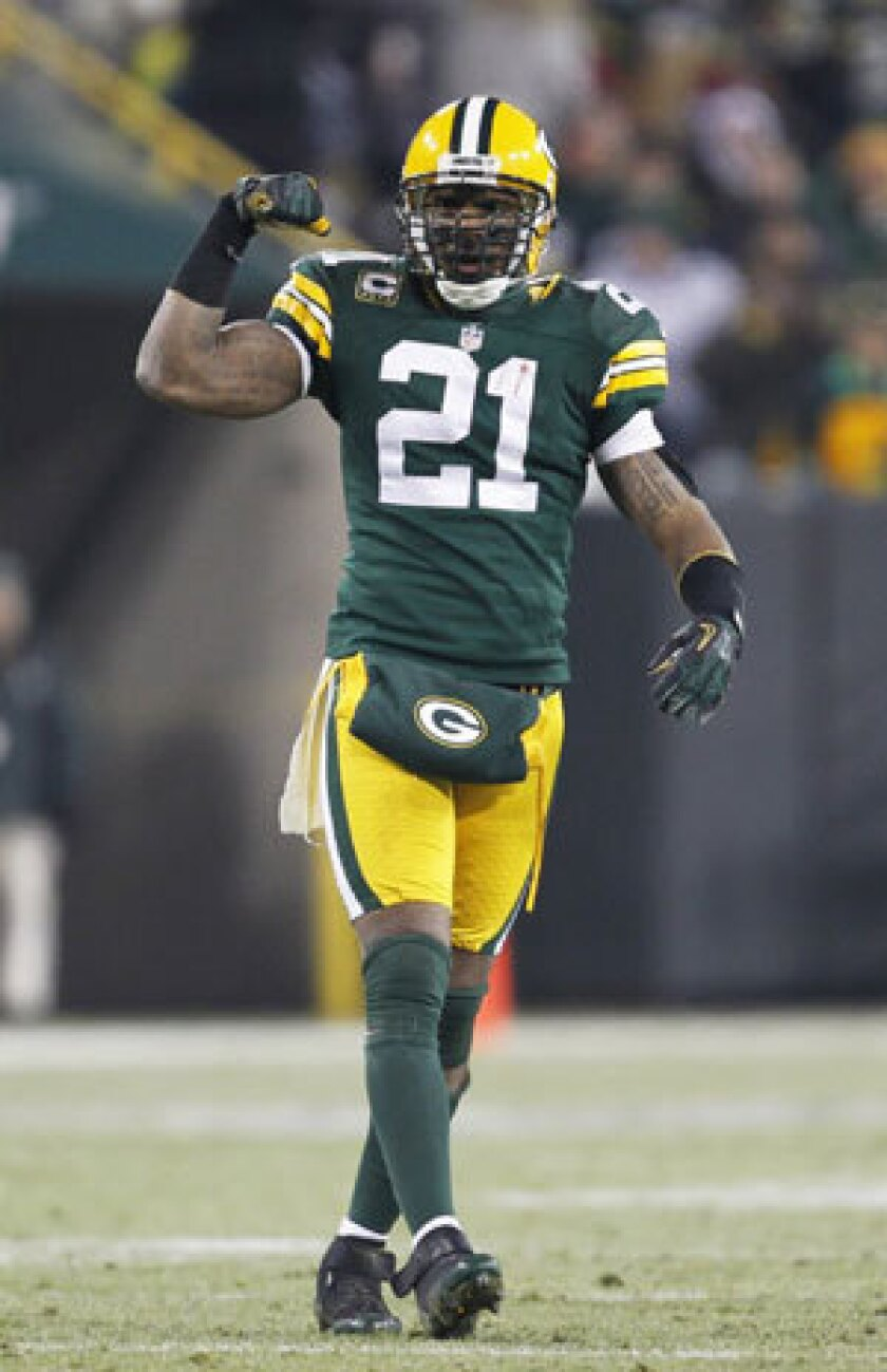 competitive price f86f1 a4045 Green Bay Packers set to release Charles Woodson - Los ...
