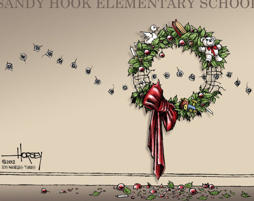 Shooting of Newtown's children steals innocent joys of Christmas