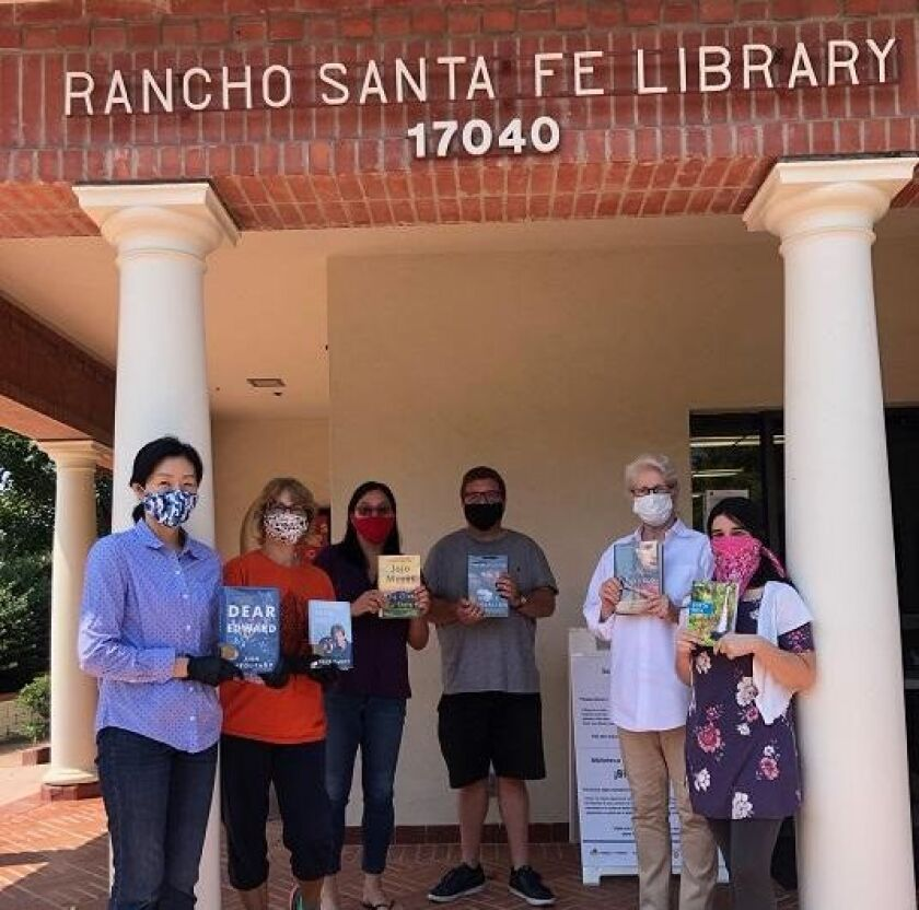 The Rancho Santa Fe Library staff is ready to welcome back readers.