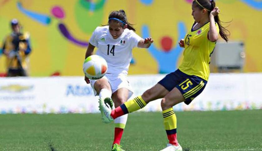 Mexicanas y colombianas ofrecieron un buen juego.