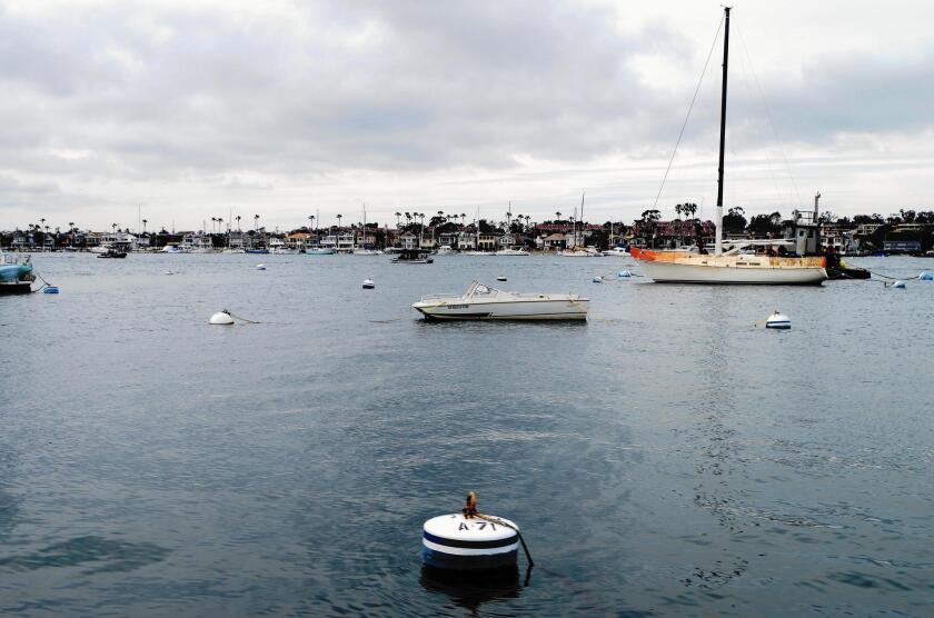 Newport Harbor has about 1,200 moorings over 12 mooring fields.