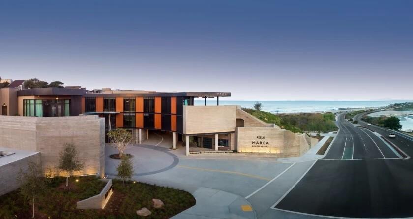 The new Alila Marea Beach Resort.