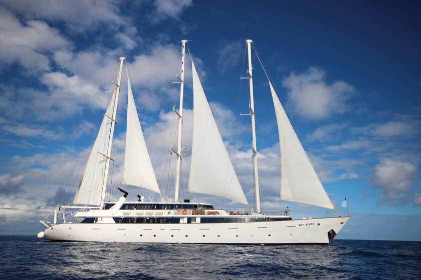 International Expeditions schedules tours of Cuba aboard the Panorama (shown here) and Panorama II.