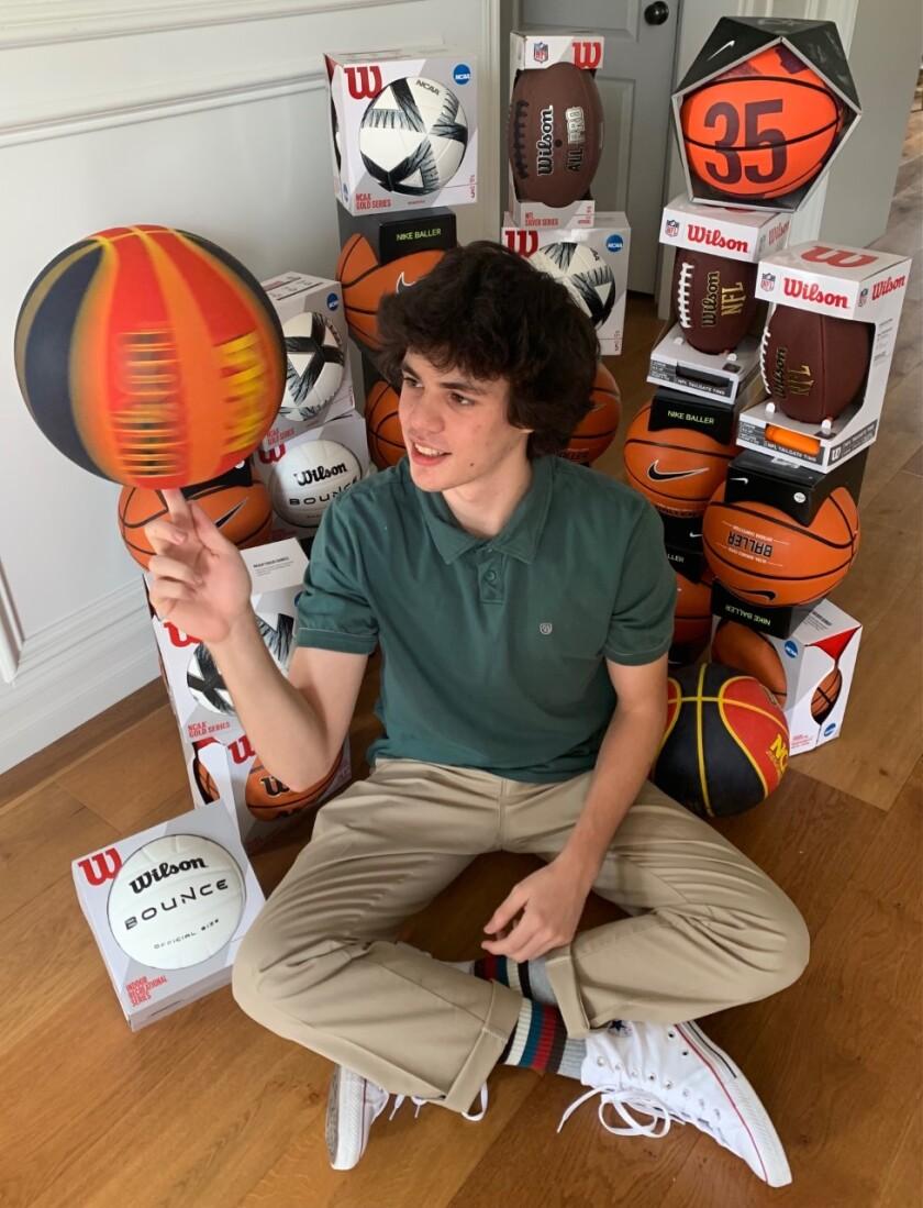 Marco Alvarez, 16, started the nonprofit Free Throwz