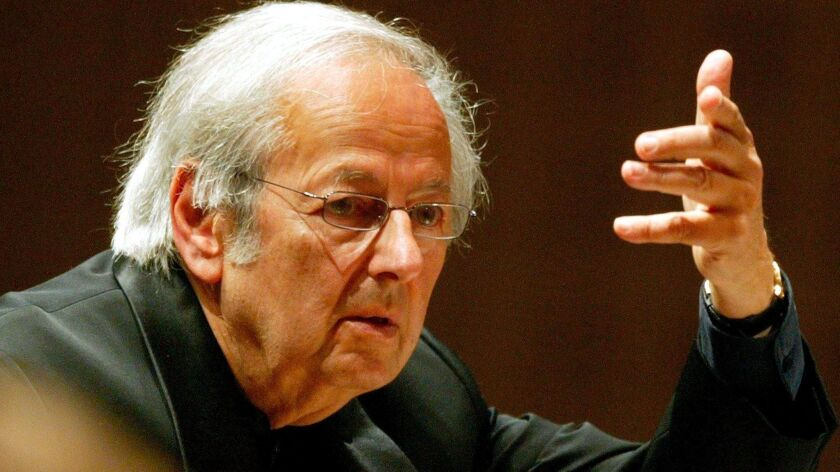 Andre Previn dies at 89, Lucerne, Switzerland - 01 Sep 2004