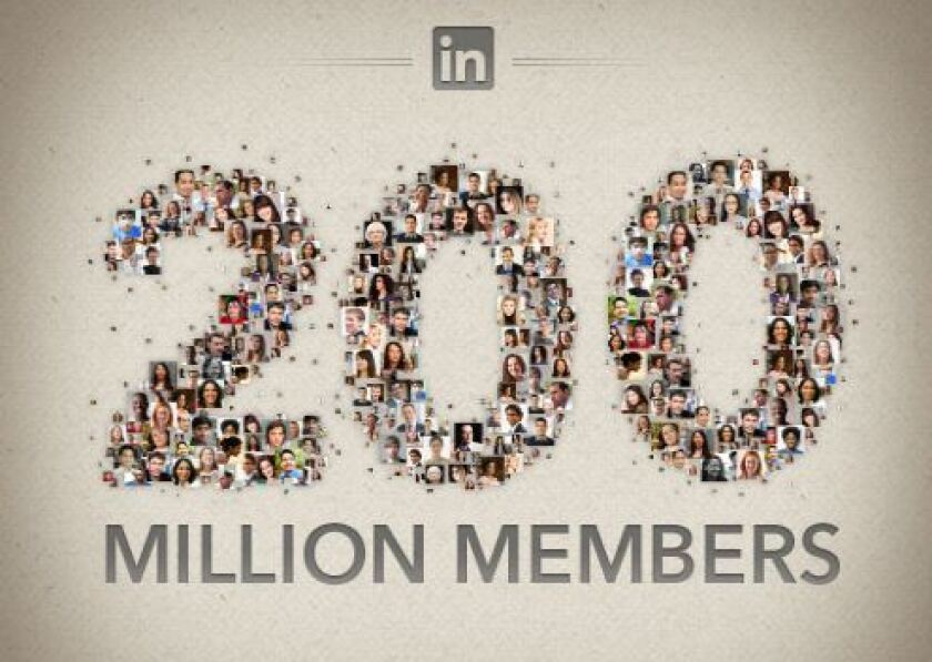 LinkedIn had 160 million active users, up 20% in two months
