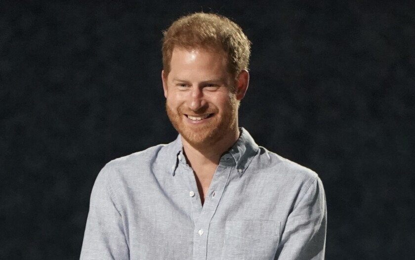 ARCHIVO - El príncipe Enrique, duque de Sussex