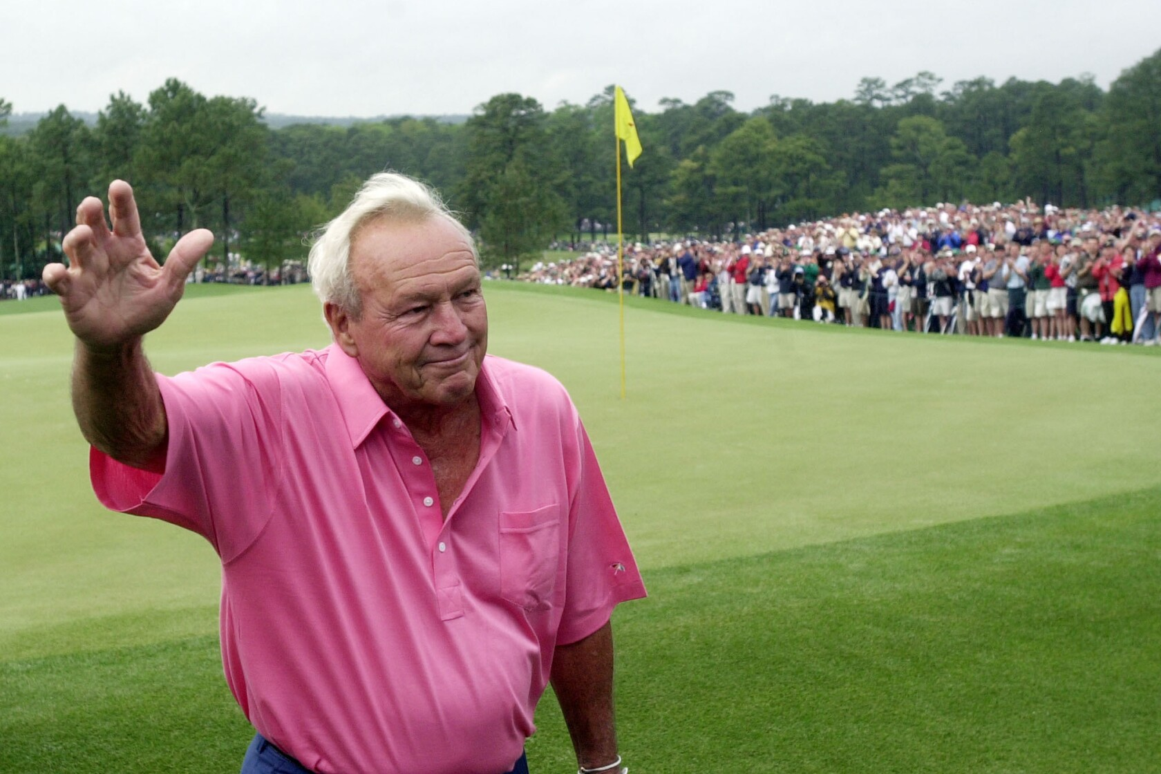 Arnold Palmer invented pro golf as it exists today': The
