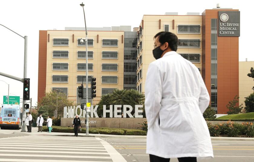 UC Irvine Medical Center in Orange.