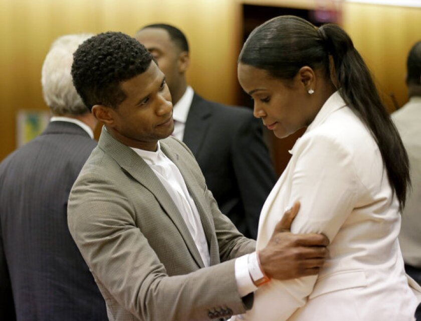 Usher, Tameka Foster Raymond