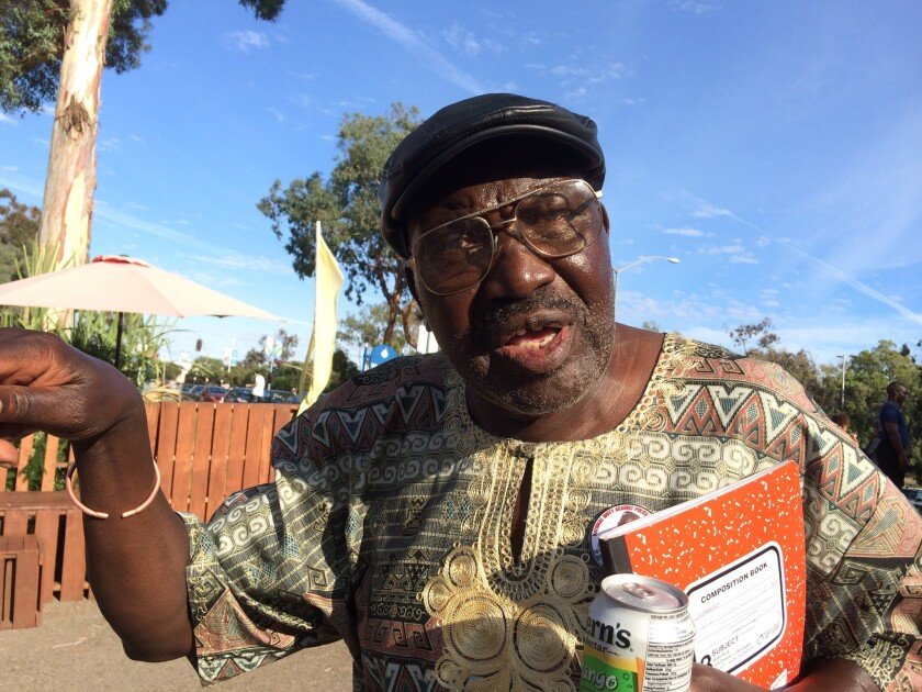 Richard Olango, father of Alfred Olango who was fatally shot by El Cajon police.