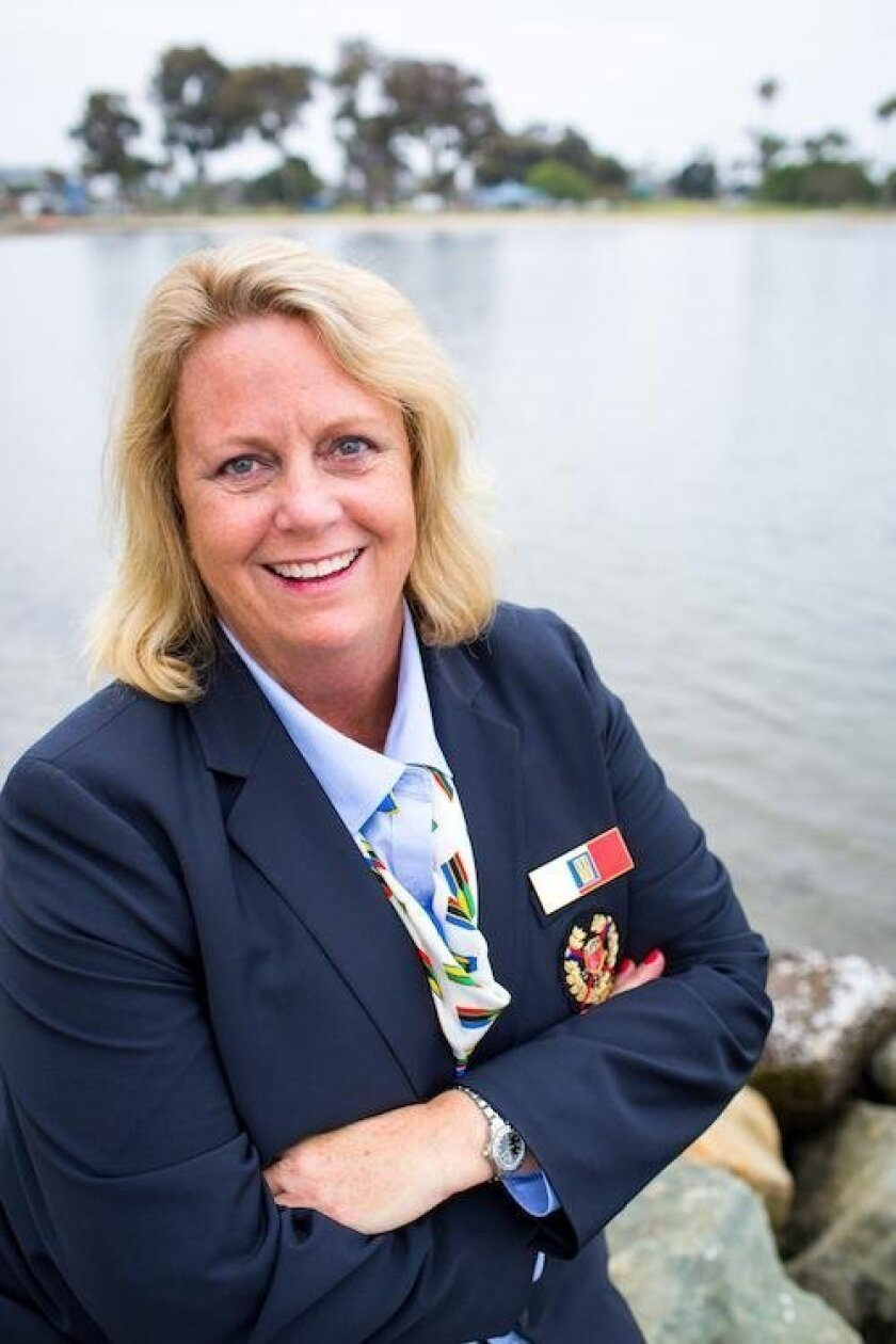 La Jolla resident and Olympic Umpire Jean Reilly