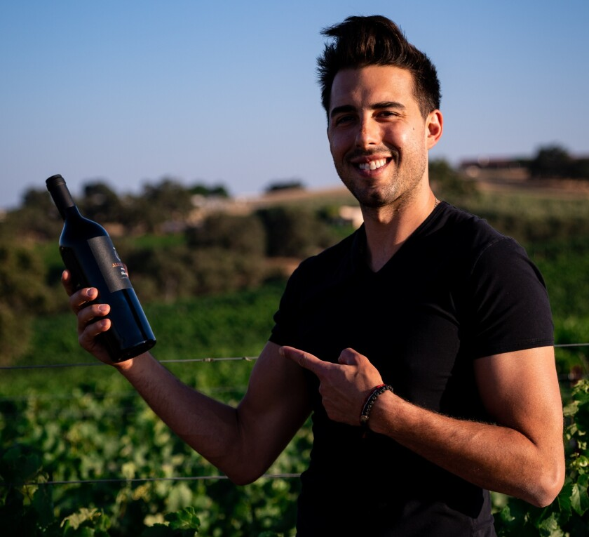 Former Laker Sasha Vujacic, above, and his family operate a winery in Paso Robles, Calif.