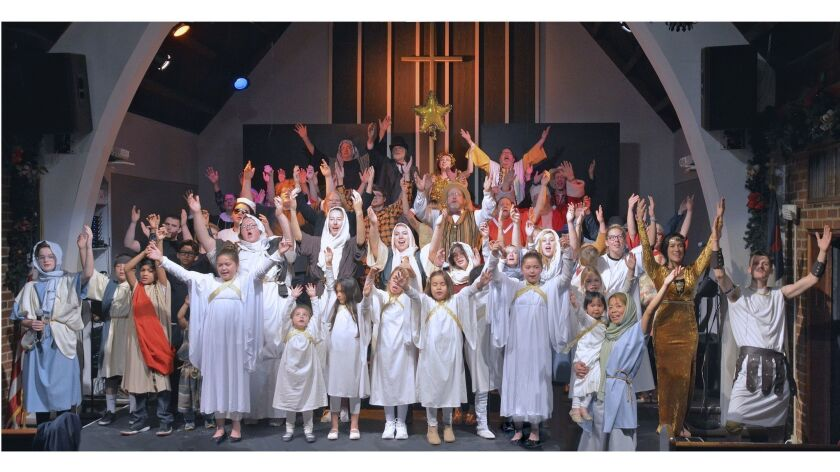Close to 100 congregants of Westminster Presbyterian Church teamed-up to present the 2018 version of