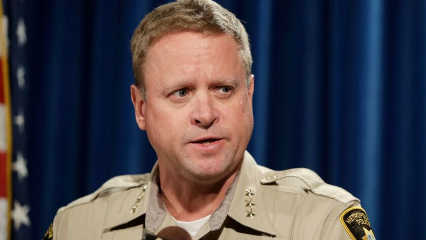 Las Vegas police Undersheriff Kevin McMahill urged anyone with information about Stephen Paddock's plans to open fire at the Route 91 Harvest Festival to call the FBI.