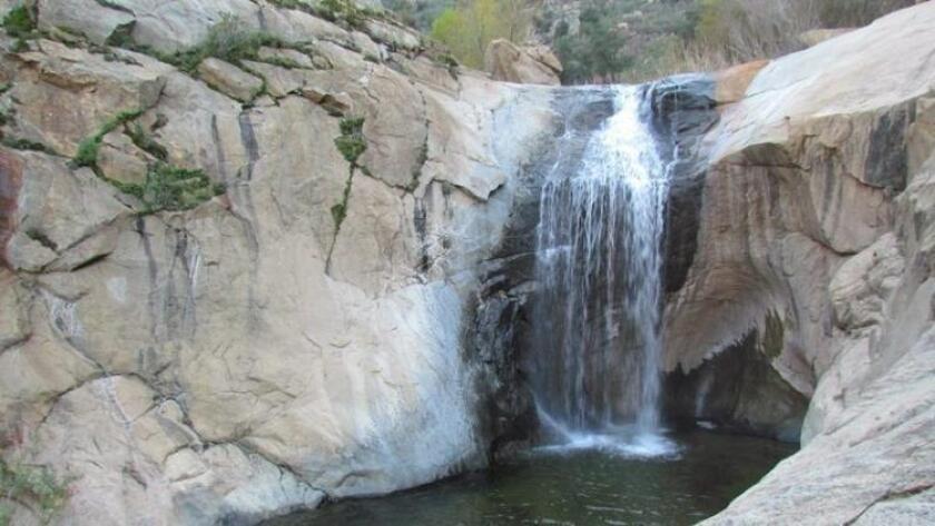 Three Sisters Falls.