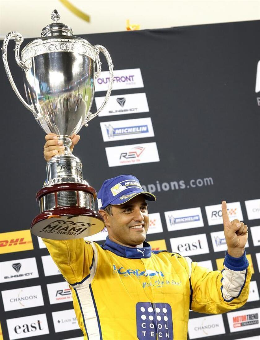 El colombiano Juan Pablo Montoya (imagen) ganó la vigesimoctava edición de la Carrera de Campeones que se disputó en Miami, después de superar en la final al danés Tom Kristensen, en el que era su debut en el evento. EFE