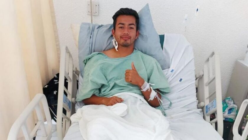 Alaín Cuevas, del Ciervos FC, en una foto que compartió en Facebook.
