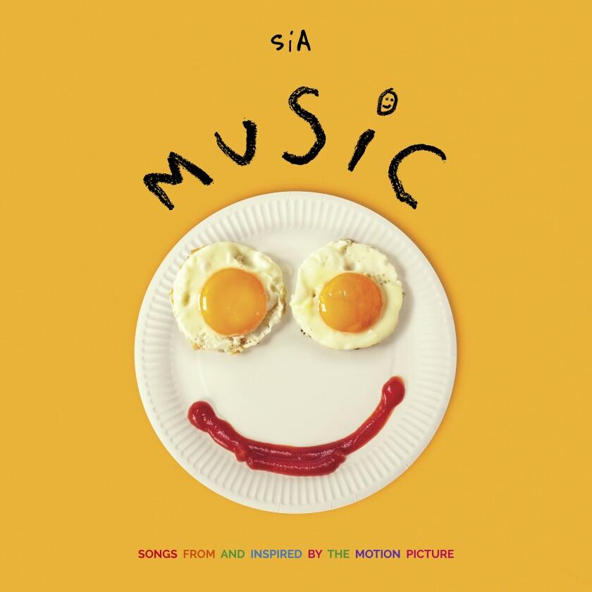 "La portada del álbum ""Music"" de Sia."