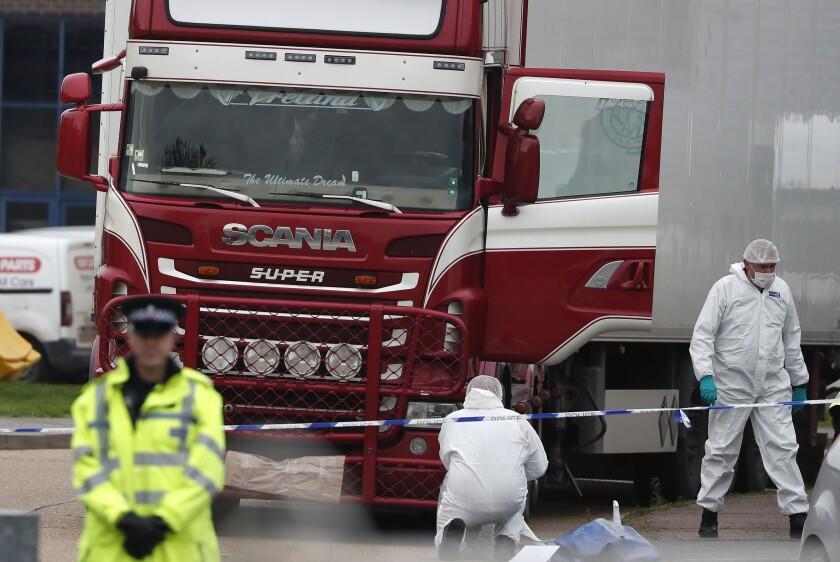 Britain Truck Deaths