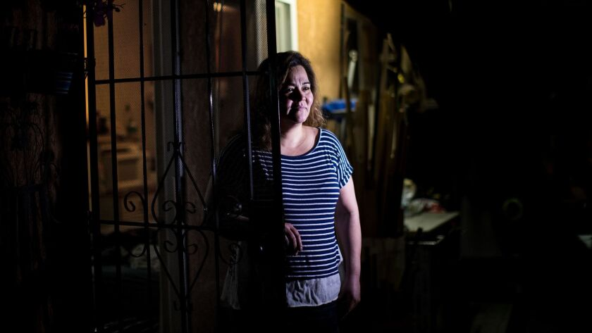 Salvadoran immigrant Cecilia Ramos lives in Los Angeles on protected status. Ramos will have until Sept. 9, 2019, to arrange a return or apply for alternative legal means of staying in the U.S.