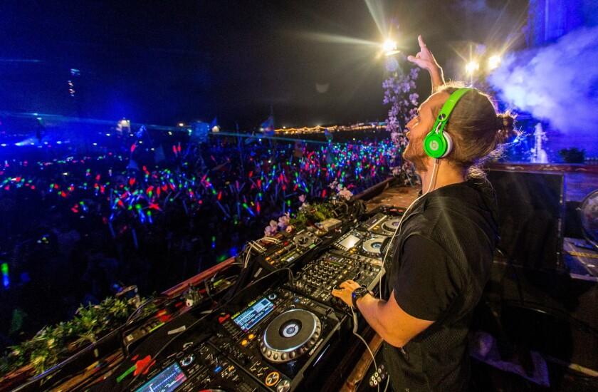 A view of TomorrowWorld Electronic Music Festival in Chattahoochee Hills, Ga.