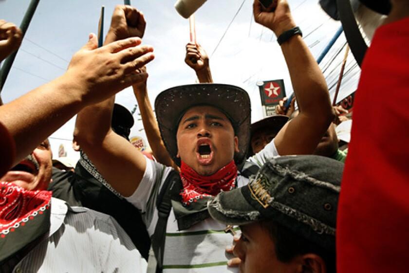 Unrest in Honduras