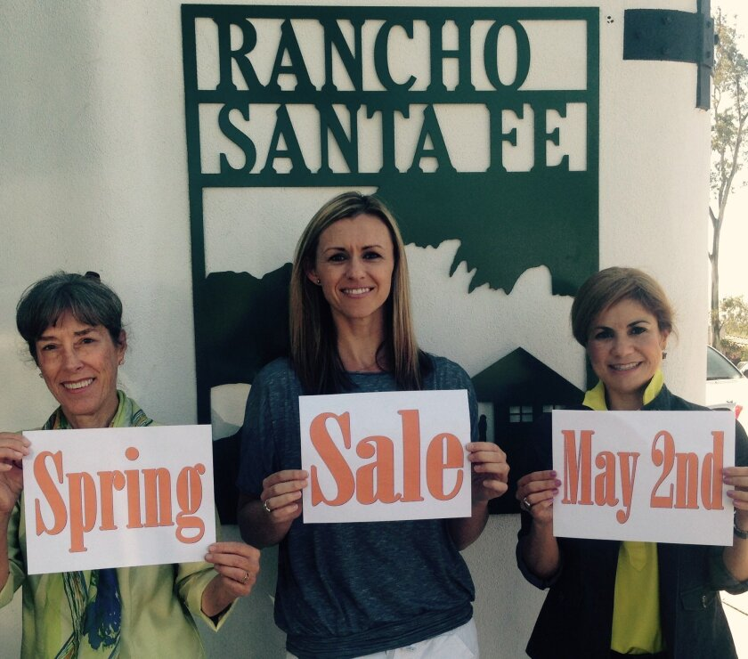 The RSF Garden Club, The Country Friends and The RSF Book Cellar join May 2 for a spring sale to benefit the community. Courtesy photo