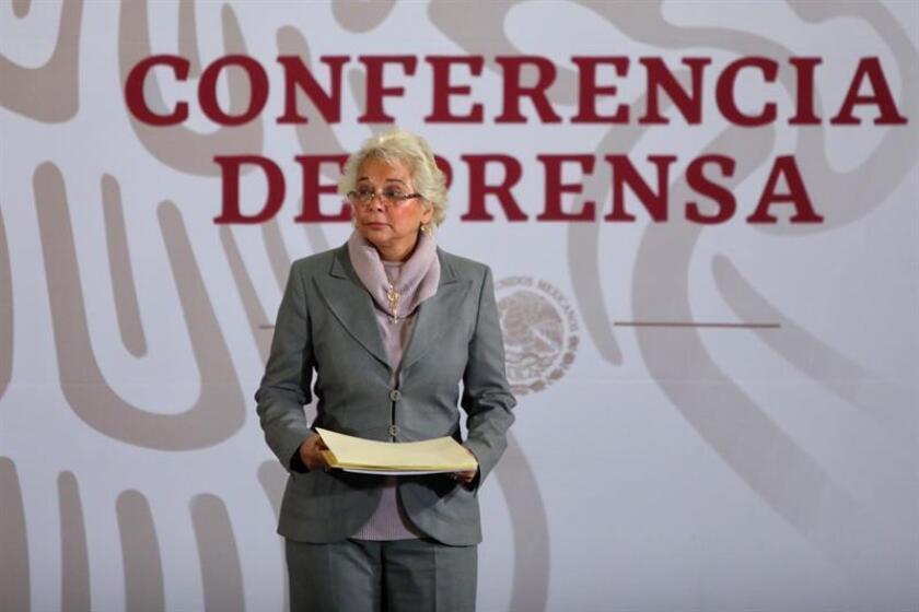 La ministra de Gobernación, Olga Sánchez Cordero. EFE/Archivo