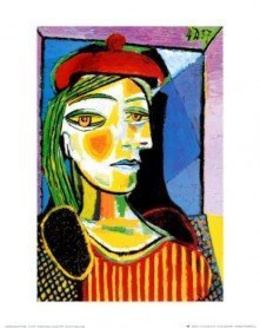 "Pablo Picasso's  ""Girl with a Red Beret."""
