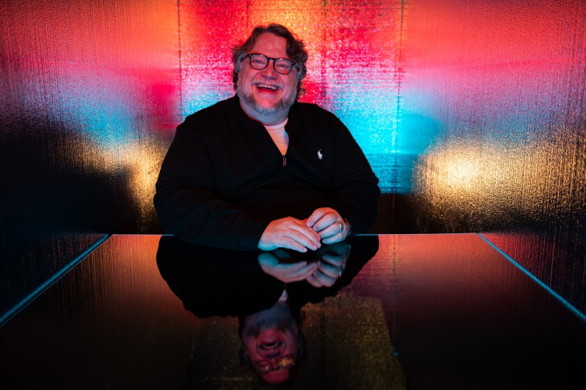 "Guillermo del Toro introduced a new ""Scary Stories to Tell in the Dark"" monster on July 20 at Comic-Con."