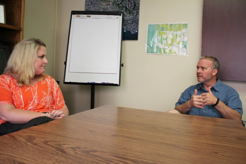 La Jolla High School vice-principal Cindy Ueckert speaks with Principal Chuck Podhorsky and the La Jolla Light about her background and her vision as an administrator.