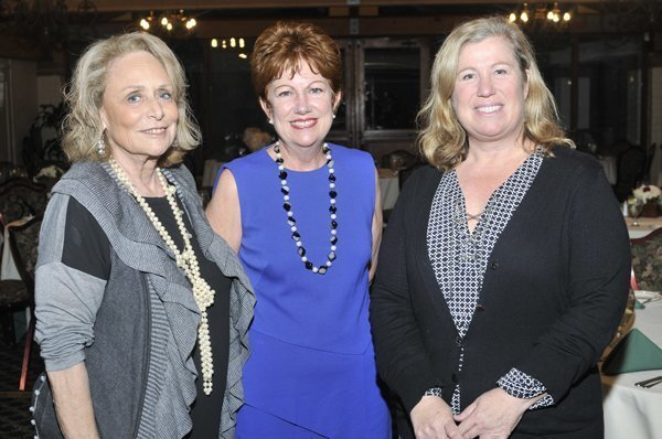 CCF 1st chair and founding member Alice Jacobson, current chair K.J. Koljonen, immediate past chair Katrina Dodson