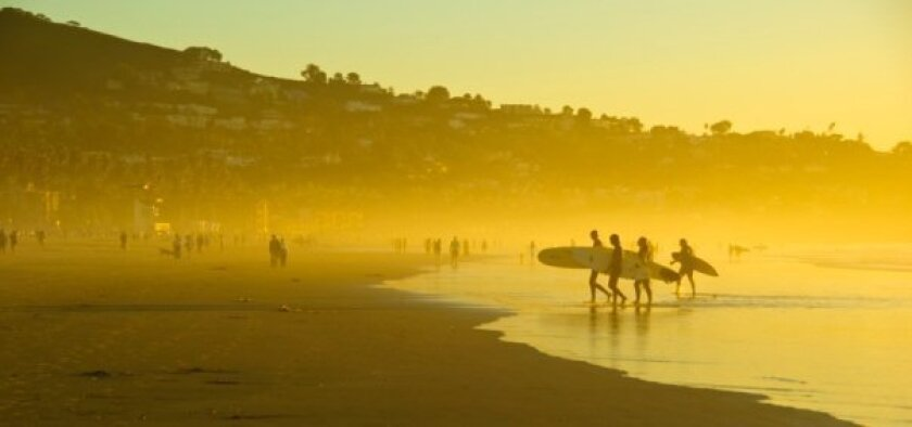 Autumn in San Diego can be a prime time for surfers -- and for real estate success.